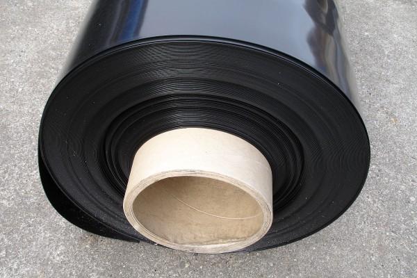 1 mm PE-LD Abdichtungsbahn schwarz