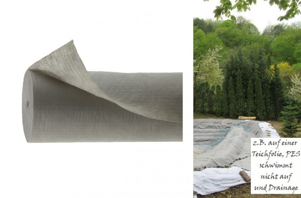 Evalith® Vlies Type 011/150 GRK 3 grau 150 g/m²