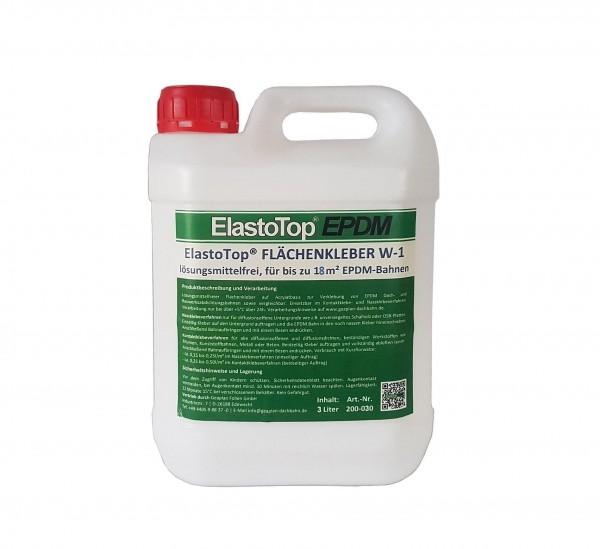 Flächenkleber ElastoTop® EPDM wasserbasiert 3 Liter