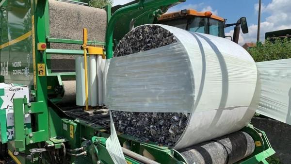 Frost-TEX 300 kg Rundballen Allwetterboden