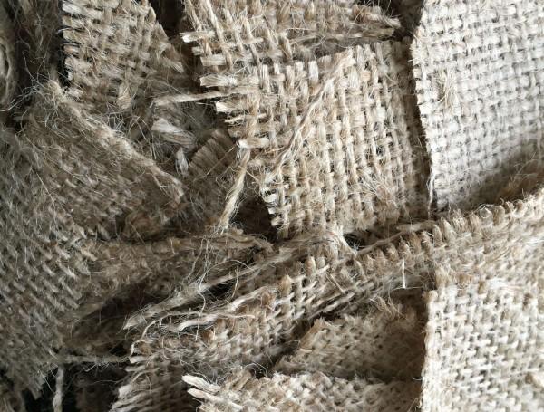 Jute Naturfaser Häcksel - Zuschlagstoff für Reitsande